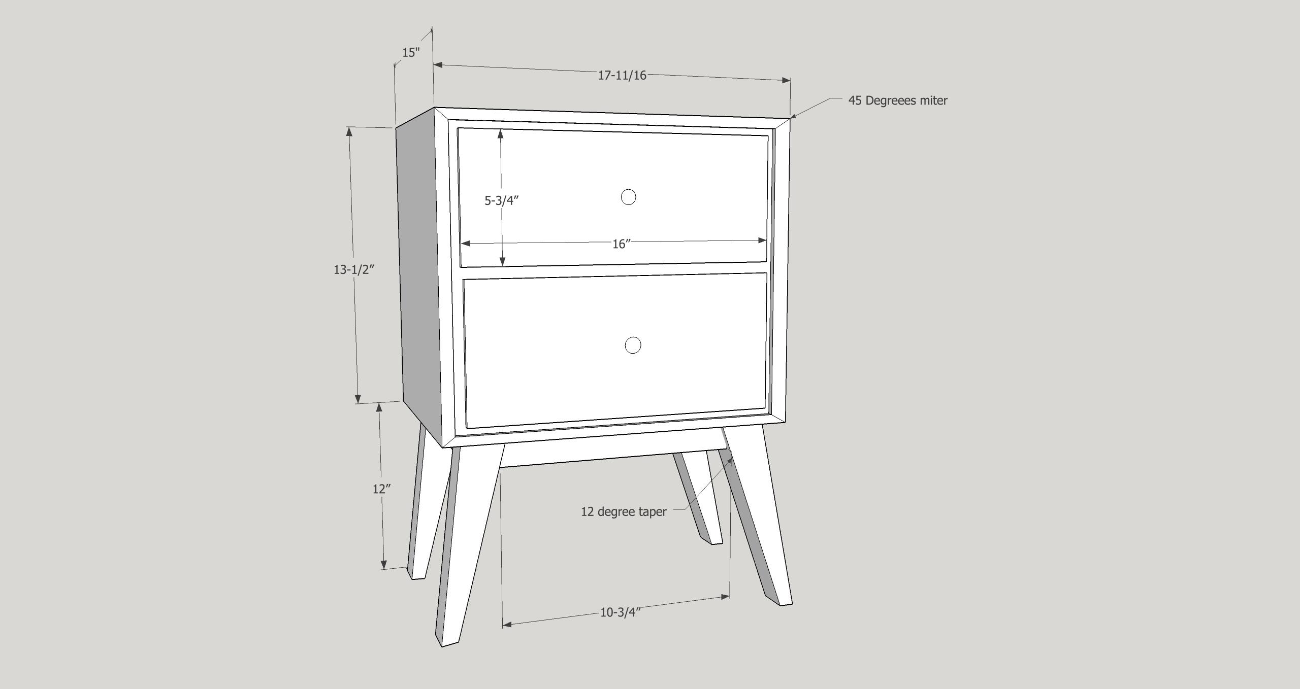 diy-mid-century-modern-nightstand